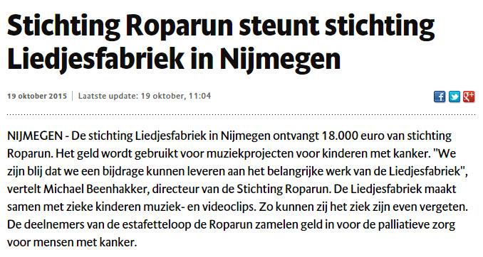 Liedjesfabrek Nijmegen
